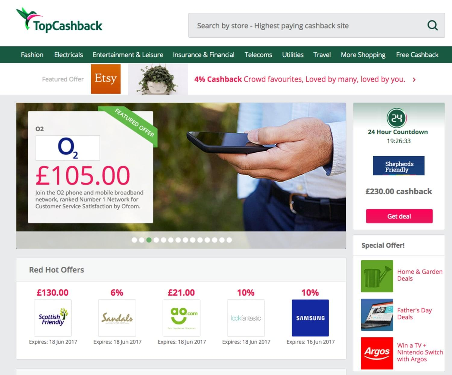 How to save money with TopCashback