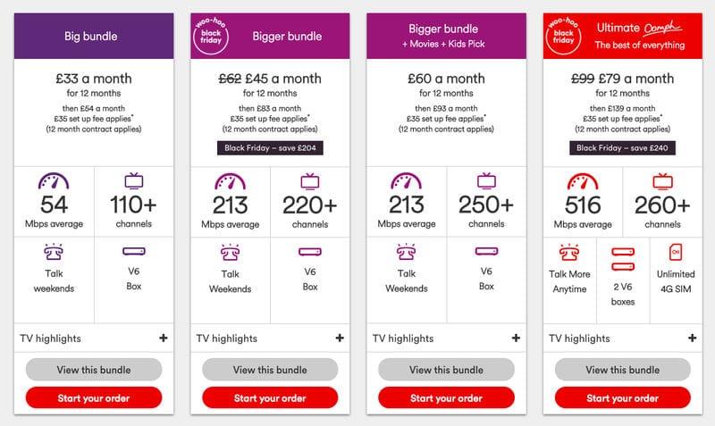 Cheap Virgin Media Tv Phone And Broadband Bundles On Sale Latestdeals Co Uk