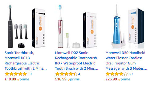 40 off electric toothbrush with 2 minute timer 11 99 at amazon