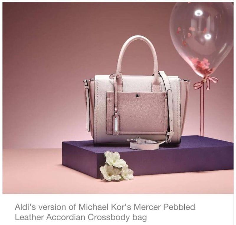 a4a1d55624f3 Aldi Replicates Michael Kor s Bag Sale - NOW AVAILABLE ONLINE ...