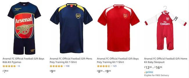 brand new 2610e 3d99b Cheap Arsenal Deals, Vouchers & Online Offers for Sale in ...