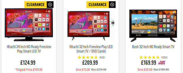 Cheap Led Tv 32 Inch 40 Inch Deals At Argos Asda