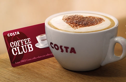 What Is Costa Coffee Club Points Card App Explained