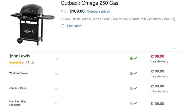Cheap Bbq Argos Tesco Amazon Gas Clearance Sale