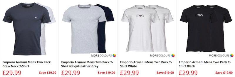 6526f1cb369 Cheap Armani t shirts on sale