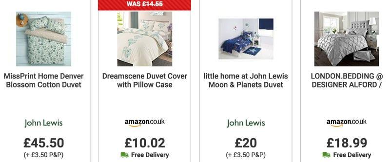 Cheap Bedding Duvet Covers Pillowcases Sale Uk