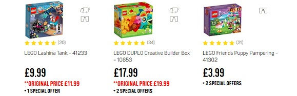 Lego Deals Uks Top 12 Cheap Lego Discounts And Sales