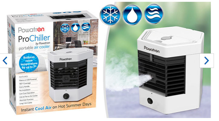 9db1071b238b 3-in-1 ProChiller Portable Air Cooler ONLY £16.99 at Discount ...
