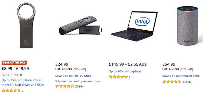 Cheap Electronics Deals, Vouchers & Online Offers for Sale in 2019