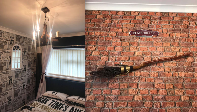 Mum Creates Incredible Harry Potter Bedroom For Her Daughter For