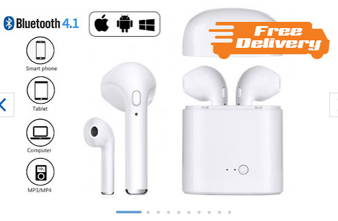 24823a42b81 Apple & Android Compatible Wireless Earbuds - Free Delivery!, £12.99 ...