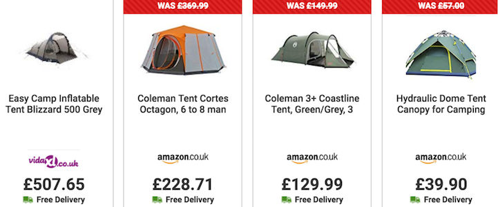 Cheap Tents → 2, 4, 6 Man Tents Deals & UK Sale 2020