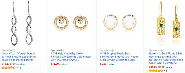773052266 Cheap Earrings → Bargains, Deals and Sales UK 2019 | LatestDeals.co.uk