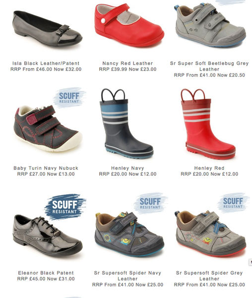 Start-Rite School Shoes 50% Clearance