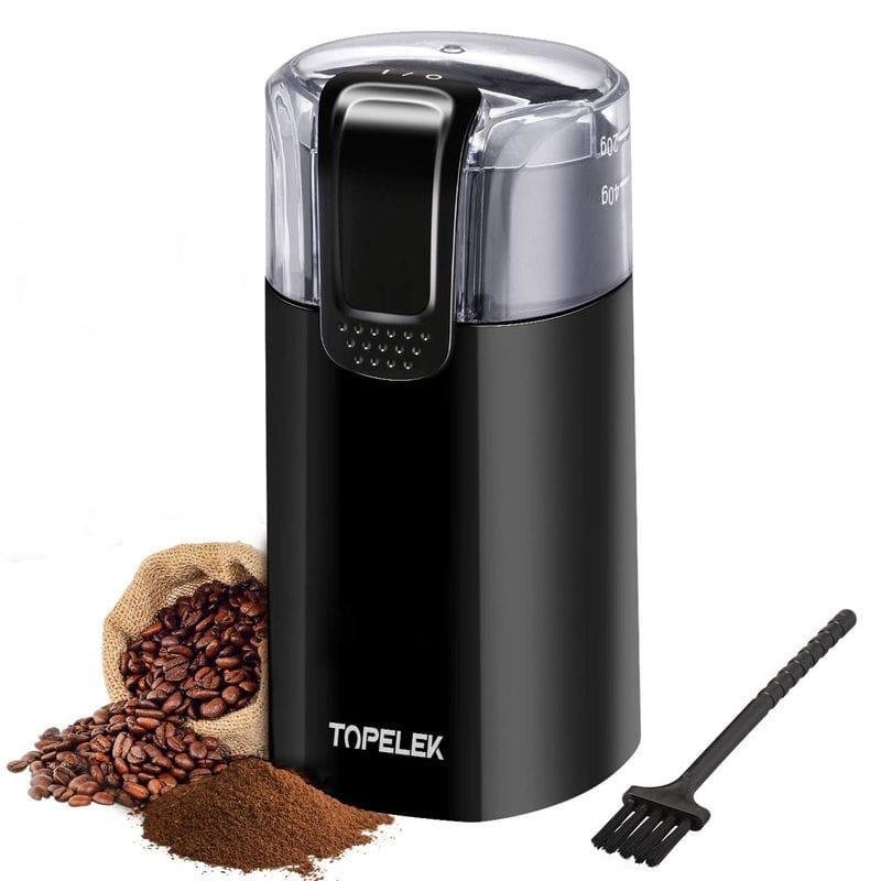 Coffee Grinder Ikich Topelek Electric Coffee Bean Grinder
