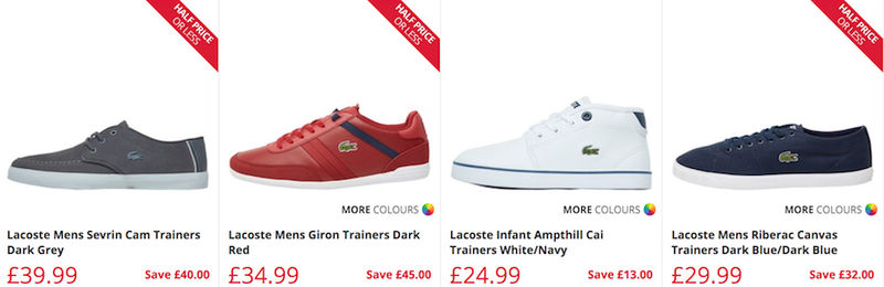 f04c5ff02 Top 10 Lacoste Deals → Lacoste Sale UK April 2019