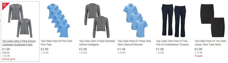 3f3bfa2f19 There's some great deals on School Uniform at Very Clearance on eBay like  this.