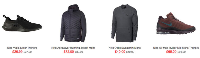 18d5bbe28233 Nike sale at Sports Direct