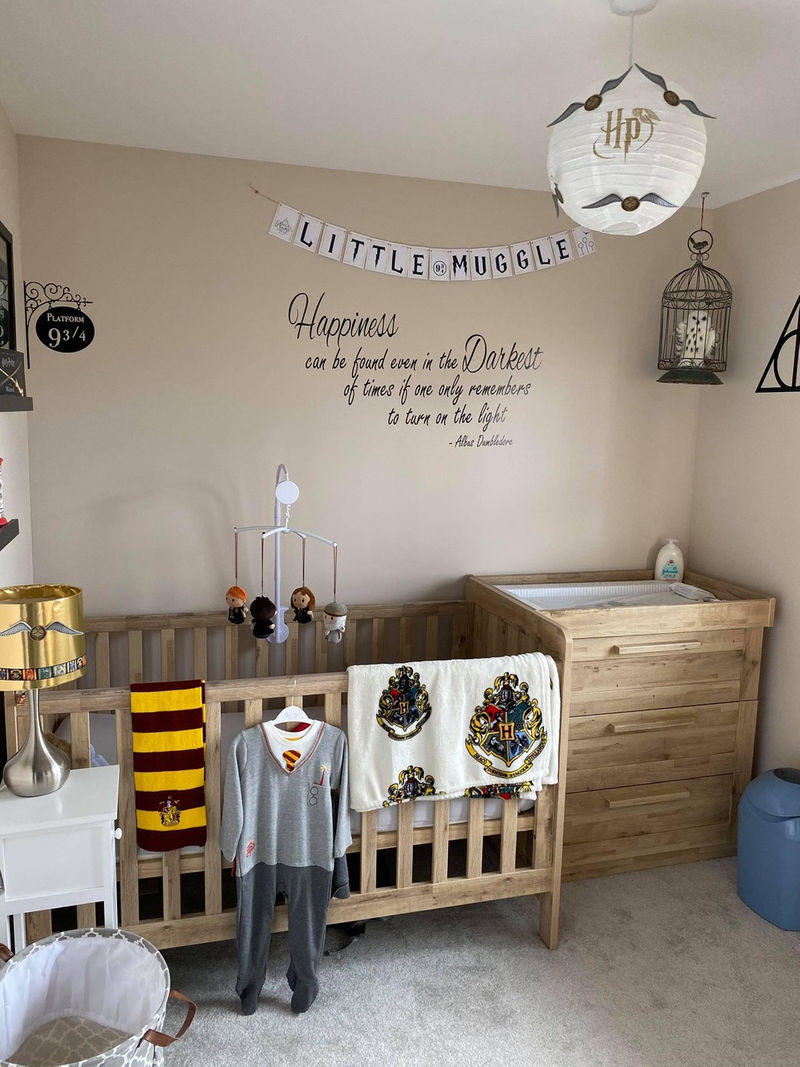 Kelsey Michael Creates Incredible Harry Potter Bedroom