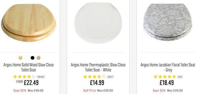 Cheap Toilet Seat Deals Vouchers Online Offers For Sale