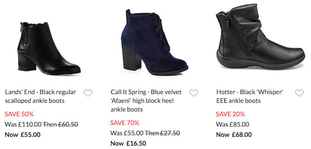 c9ed44e752b Cheap Ankle Boots → Ankle Boots Sale, Best Price UK | LatestDeals.co.uk