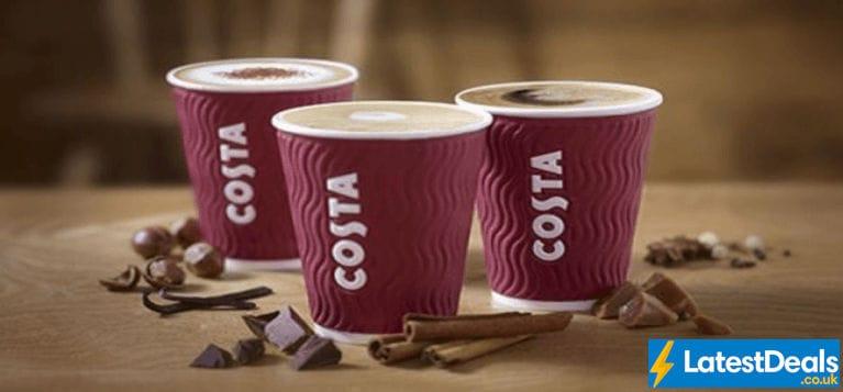 Costa Deals Costa Coffee Vouchers January 2020