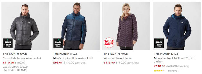 f89249997067 Cheap North Face Deals, Vouchers & Online Offers for Sale in 2019 ...