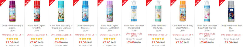 Morrisons Baby Toddler Event Wipes Nappies Food Baby