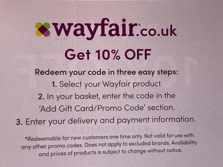 Wayfair Uk Voucher Codes And Discounts November 2020 Latestdeals Co Uk