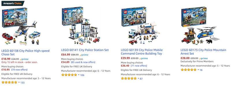 Cheap Lego City Toys Sets On Sale Best Price Uk Latestdeals