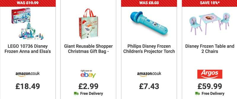 Cheap Disney Frozen Toys Gifts Playset Uk Sale Latestdealscouk