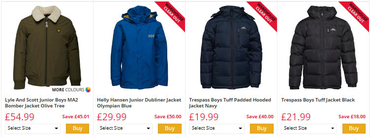 100% genuine for whole family top quality CHEAP Jackets and Coats. HUGE SAVINGS up to 80% off at M&M ...