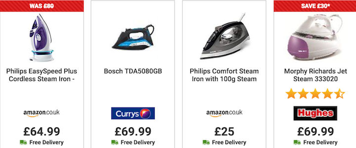b5a6c30c1cc Best steam iron deals from your favourite UK retailers