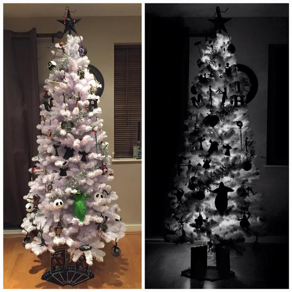 Blogger Reveals Nightmare Before Christmas Tree (But Would You