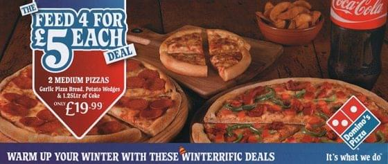 Dominos Voucher Codes And Discounts January 2020