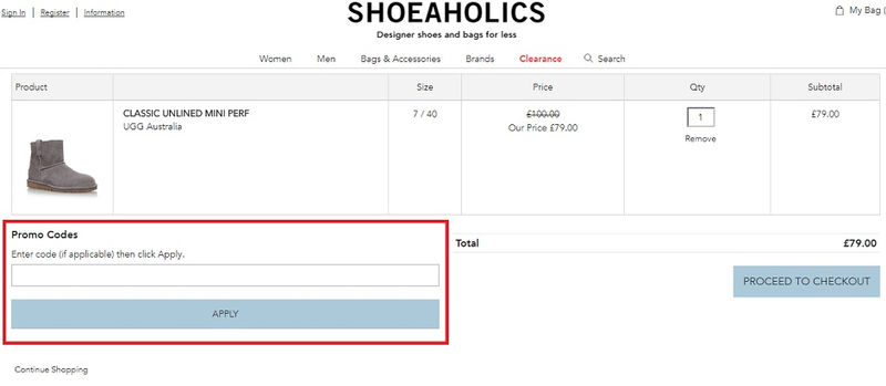 9b56797fd9f Shoeaholics - Voucher Codes and Discounts - August 2019 ...