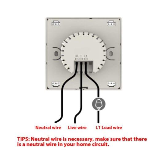Smart WIFI LED Light Switch - save 48%, £26 99 at Amazon