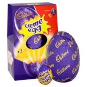 Cadbury Creme Egg Medium Chocolate Easter Egg 138g 50p: Morrisons