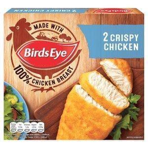 Birds Eye 2 Crispy Chicken 170g