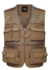 Zshow men 39 s fly fishing vest at amazon for Fishing vest amazon