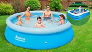 Large Inflatable Swimming Pools 6ft Or 8ft At Go Groopie