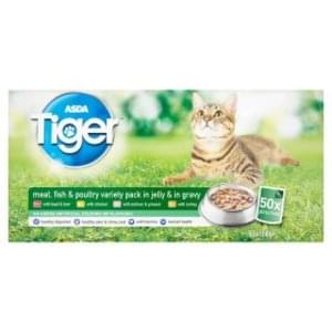 Asda Tiger Cat Food