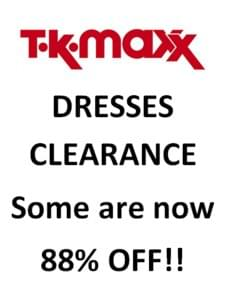 dresses going very cheap at tk maxx clearance on now. Black Bedroom Furniture Sets. Home Design Ideas