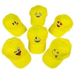 *IT'S WORLD EMOJI DAY* Get These Emoji Baseball Caps