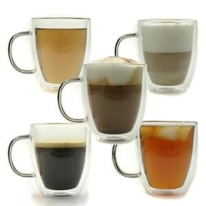 Glass coffee mugs less than £5 with discount code