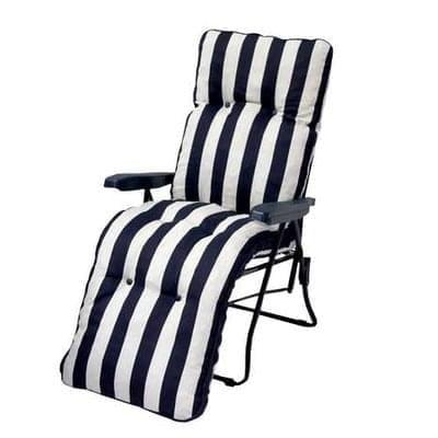 Premium Navy Stripe Relaxer Save £10 Free C+C