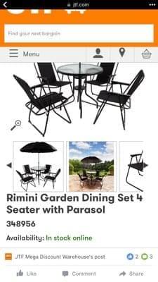 Bargain Garden Furniture At Jtf Latestdeals Co Uk