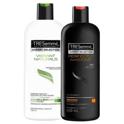 Shampoo and conditioner £1