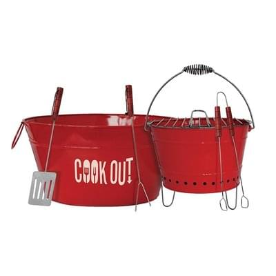 Cook Out 6-Piece Party BBQ Set