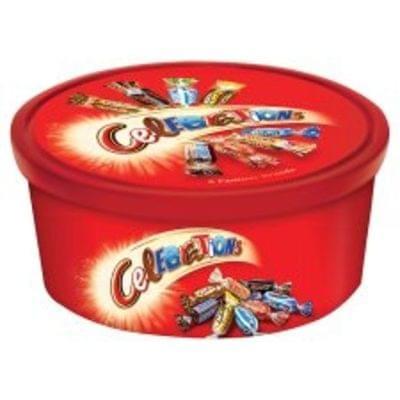 Celebration Tubs 2 for £7 at Tesco